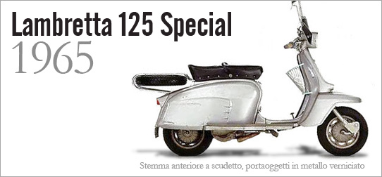 Schema Elettrico Lambretta J50 : Ricambi originali lambretta special